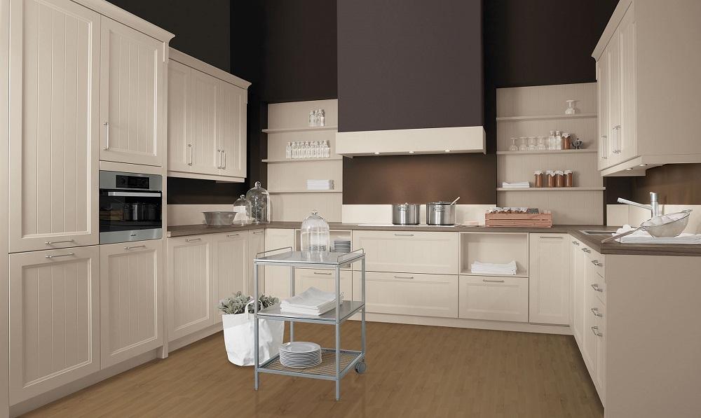 Loohuis_Keukens_Landhuis keuken in U-opstelling